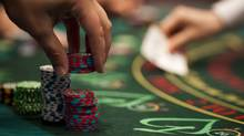 Blackjack at the River Rock Casino in Richmond, B.C. June 11, 2009. The Great Canadian Gaming Company. John Lehmann/Globe and Mail (JOHN LEHMANN/The Globe and Mail)