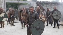 Ragnar Lothbrok (Travis Fimmel) is not just about raping and pillaging; he's on a quest for knowledge in Vikings.