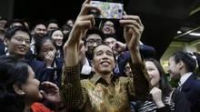Indonesian President Joko Widodo, popularly known as 'Jokowi.' (Wong Maye-E/Associated Press)