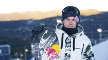 Canadian snowboarder Sebastien Toutant in Breckenridge, Colorado for The DEW Tour. (Katie Girtman For The Globe and Mail)