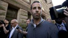 Toronto Mayor Rob Ford's occasional driver Alexander (Alessandro) Lisi leaves Old City Hall after he was granted bail on drug and conspiracy charges in Toronto on Wednesday, October 2, 2013. (Michelle Siu/The Globe and Mail)