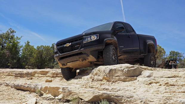 2017 Chevrolet Colorado ZR2.
