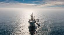 An aerial view of Nexen's Golden Eagle offshore drilling platform in the North Sea about 70 kilometres northeast of Aberdeen, Scotland. (NEXEN)