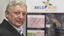 Mark Eaton, president and ceo of Belo Sun Mining is photographed in the company's Toronto offices on March 6 2014. (Fred Lum/The Globe And Mail)