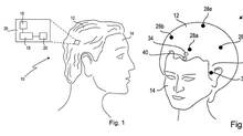 "Features covered in the patent application for the Sony SmartWig include a camera, GPS location chips, a sensor using ""ultrasound waves"" to detect nearby objects, as well as actuators that would vibrate to inform the wearer of incoming notifications and also send directional prompts for non-visual navigation (left side of head vibrates, turn left). There is also a laser (no, not death-ray type lasers) pointer hidden in this smartrug and sensors that would detect which way the head was turned or tilted. (U.S. Patent Office)"