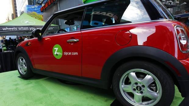Zipcar S  Fleet Included  Electric Cars