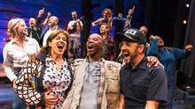 The cast of Come From Away. (Matthew Murphy/THE CANADIAN PRESS)