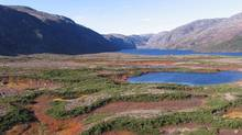 Newly created Mealy Mountains National Park in Labrador. (Parks Canada)