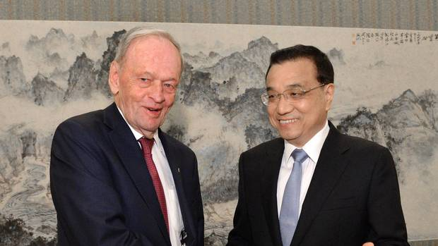 Image result for Jean Chretien China trade mission
