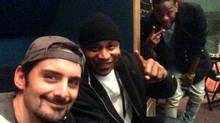 Brad Paisley, left, and LL Cool J are pictured in a Twitter photo posted recently.