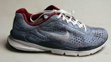 Nike Plus running shoes, shot Oct. 10, 2006.