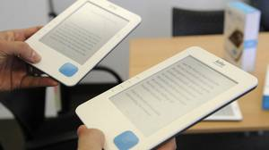 The Kobo comes populated with 100 free e-books, out-of-copyright classics, but has plenty of memory left for additional documents.