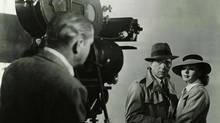 "Humphrey Bogart and Ingrid Bergman in a production still from ""Casablanca"" (Kobal Collection/ Warner Bros)"