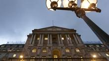 A general view shows the Bank of England in London. (OLIVIA HARRIS/REUTERS)