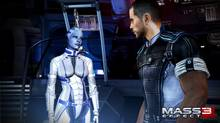 A screenshot from Mass Effect 3, the final entry in an epic galactic adventure set 200 years in the future (BioWare)