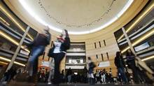 Students at the York University campus in Toronto. Administrator Martin Singer is at the centre of a controversy over a student's request not to have to meet or work with female classmates. (Mark Blinch/REUTERS)