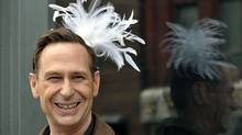 In this April 2011 file photo, comedian Scott Thompson wears a feather tiara after suggesting Drag Day as his big idea for Toronto. (File photo | J.P. Moczulski for The Globe and Mail/File photo | J.P. Moczulski for The Globe and Mail)