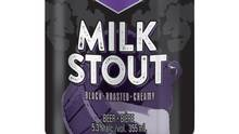 Black Bridge Beer's Milk Stout is made with five different types of malt barley, wheat and oats (Handout)