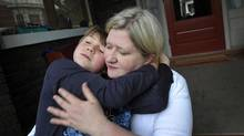 Kathy Layte and adopted son Austin, 10: 'He would head-butt me without batting an eye,' she recalls. 'He hit me so hard in the face that I had a nose bleed.' (Kevin Van Paassen/The Globe and Mail)