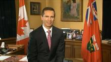 """In a YouTube video, Premier Dalton McGuinty is asking Ontario's teachers to """"do their part"""" to help slow down spending and protect education in the province"""