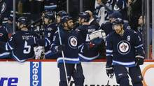 The Winnipeg Jets are near the bottom of the Western Conference, but still vying for a playoff spot, potentially making them reluctant to trade away assets. (Bruce Fedyck/USA Today Sports)
