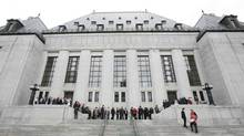 The Supreme Court of Canada building. (SEAN KILPATRICK/THE GLOBE AND MAIL)