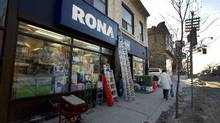 File photo of a Rona outlet in Toronto. (Peter Power/ The Globe and Mail)
