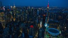 New York remains the top target market worldwide for real estate investors, says a survey by the Association of Foreign Investors in Real Estate. (Craig Warga/Bloomberg)