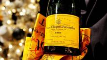 A Veuve Clicquot bottle is seen in this file photo. (Della Rollins For The Globe and Mail)