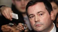 Canada's Immigration Minister Jason Kenney listens to a question while speaking to journalists in the foyer of the House of Commons on Parliament Hill in Ottawa March 7, 2011. (Chris Wattie/Reuters/Chris Wattie/Reuters)