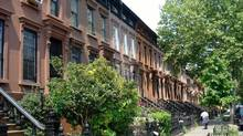 Brooklyn brownstone owned by Vancouver investors. (Rodney Hynes)
