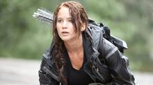 Jennifer Lawrence stars as 'Katniss Everdeen' in THE HUNGER GAMES. (Photo credit: Murray Close)