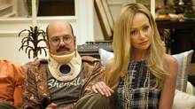 David Cross and Portia de Rossi in Season 4 of Arrested Development. (Sam Urdank/AP)