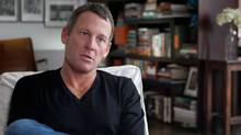 This photo released by courtesy of Sony Pictures Classics shows Lance Armstrong in the documentary film The Armstrong Lie. (Maryse Alberti/AP)
