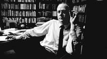 Marshall McLuhan in 1963 (Erik Christensen/The Globe and Mail)