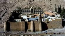Catherine Monastery, Mount Moses, Sinai, Egypt. (Pavle Marjanovic/iStockPhoto)