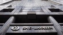 The Montreal headquarters of engineering giant SNC-Lavalin. (Ryan Remiorz/RYAN REMIORZ/THE CANADIAN PRESS)