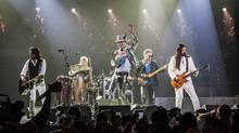 The Tragically Hip perform their last ever concert to their hometown crowd in Kingston, On., Aug. 20, 2016. (Mike Homer)