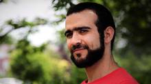 Omar Khadr is seen in Mississauga, Ont., on July 6, 2017. (Colin Perkel/THE CANADIAN PRESS)