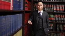 'The first time you enter into a boardroom in one of the glass towers, it's impressive. And the second time you go visit, you complain about the cost of your parking,' says Albert Luk, a lawyer in Toronto with Devry Smith Frank LLP. (Fernando Morales/The Globe and Mail)