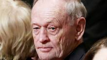 Former Canadian Prime Minister Jean Chretien looks on ahead of the delivery of the Speech from the Throne in the Senate chamber on Parliament Hill in Ottawa, Canada December 4, 2015. (Chris Wattie/REUTERS)