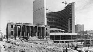 City Hall under construction in June of 1965