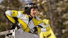 Nik Zoricic died from head injuries after crashing in a World Cup skicross event at Grindelwald on March 10, 2011. (John Evely/Canada Ski Cross/John Evely/Canada Ski Cross)
