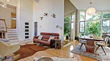 Home of the Week, 183 Confederation Drive, Scarborough, Torontro. The floor-to-ceiling windows bring in plenty of light to the house. (Tom Woodside/myhometour.ca)