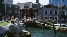 A sunny day on the Halifax waterfront. (Getty Images)