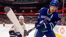 The Vancouver Canucks' Daniel Sedin is out with a concussion. (Darryl Dyck/The Canadian Press/Darryl Dyck/The Canadian Press)