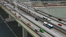Plans for buses across the new Port Mann Bridge could be cut if the Mayors' Council vote to cancel TransLinks $30-m improvement package go through. (Globe files/Globe files)