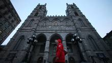Notre-Dame Basilica in Montreal, shown Feb. 14, 2013. (CHRISTINNE MUSCHI FOR THE GLOBE AND MAIL)
