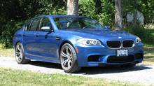 2012 BMW M5 (Bob English for The Globe and Mail)