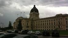 The Saskatchewan legislature is seen in this file photo. (EVAN ANNETT/THE GLOBE AND MAIL)